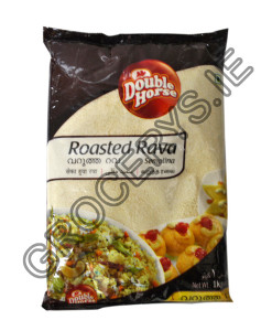double horse_roasted rava_1kg