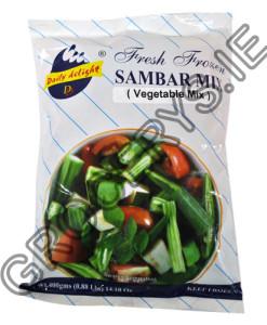 fresh frozen_sambar mix_400g