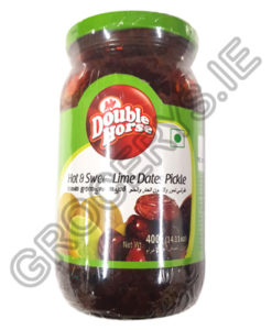 double horse_hot& sweet lime dates pickle-400g