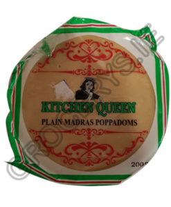 kitchen queen_plain madras poppadoams_200g