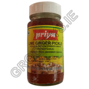 priya_lime ginger pickle_300g