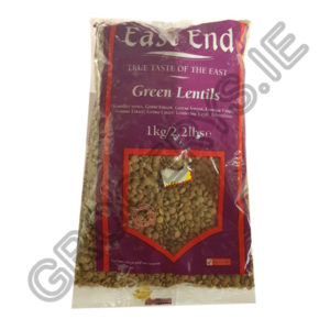 east end_green lentils_1kg